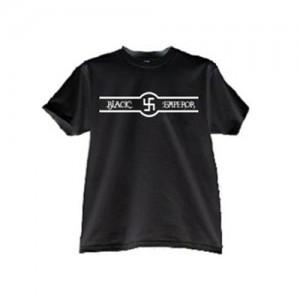 ブラックエンペラーフロントプリントTシャツ