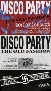 DISCO PARTY THE OLD FASHION
