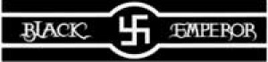 BLACKEMPERORー黒白反射文字